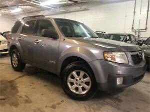 2008 MAZDA TRIBUTE 4X4 (4 CYL)/AUT/AC/MAGS/GR-ELECT!!