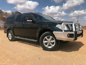 2012 Nissan Navara D40 S6 MY12 ST Black 5 Speed Sports Automatic Utility Broken Hill Central Broken Hill Area Preview