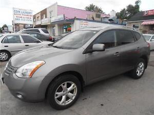 2008 Nissan Rogue   Sunroof  AWD  Silver  One Owner  172,000 KM