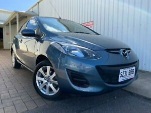 2013 Mazda 2 DE10Y2 MY14 Neo Sport Blue 4 Speed Automatic Hatchback Port Adelaide Port Adelaide Area Preview