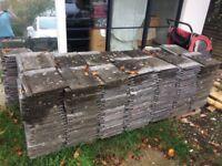 Redland 90 weathered concrete grey roof tiles circa 325