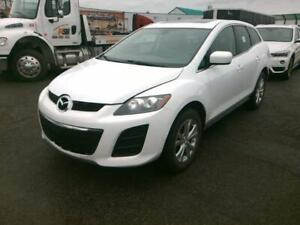 2011 Mazda CX-7 , CUIR , TOIT OUVRANT, MAG , AWD , 04 CYLINDRES
