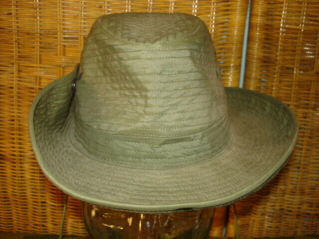 VIETNAM US ISSUE JUNGLE HAT WITH HEAD-NET 7 ½