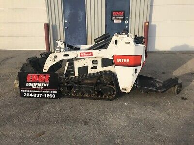 2016 Bobcat Mt55 Skid Steer Loader-caterpillarkubota