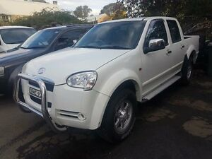 2009 Great Wall V240 K2 White 5 SP MANUAL Dual Cab Utility Campbelltown Campbelltown Area Preview