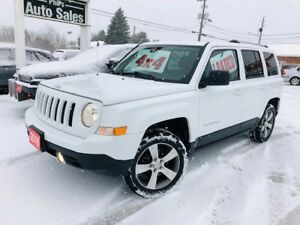 2016 Jeep Patriot HIGH ALTITUDE 4X4 // LEATHER, SUNROOF...
