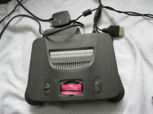 Nintendo 64 system with all cables and 2 controllers or best