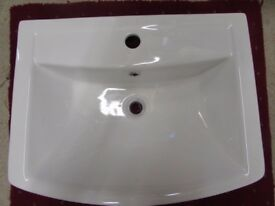 Gloss White Ceramic Basin
