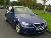 2008 BMW 320D 2.0 DIESEL SE 4 DOOR SALOON IN METALLIC BLUE 6 MONTHS WARRANTY