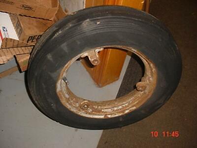 Original Farmall B-c-a Tractor Front Tire Rim Ihc Super A-c