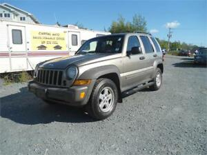 RARE! 2007 Jeep Liberty  *ALBERTA* NEW MVI + WARRANTY INCLUDED!