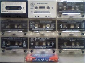 A-Z 1980s/90s POP CHART DANCE HOUSE DISCO RAVE ELECTRO ACID PRERECORDED COMPILATION CASSETTE TAPES