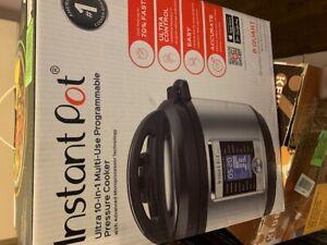 Instant Pot Ultra 8 Qt 10-in-1 Multi- Use Programmable Pressure