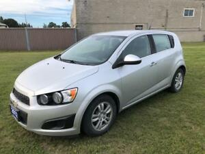 2012 Chevrolet Sonic LT $8995 Low Kms