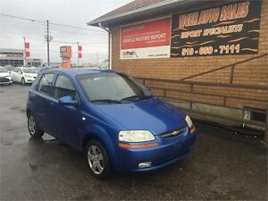 2007 Chevrolet Aveo LT*HATCH BACK**ONLY 150 KMS**GREAT CONDITION