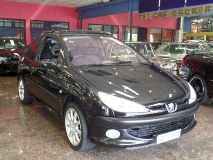 2001 Peugeot 206 GTI Black 5 Speed Manual Hatchback South Melbourne Port Phillip Preview