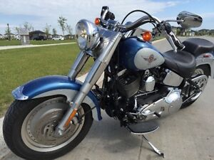 PRICED TO SELL 2006Fatboy FLSTFI EF CustomBlue