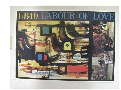 Used, UB40 Poster Labour of Love Commercial for sale  Shipping to India