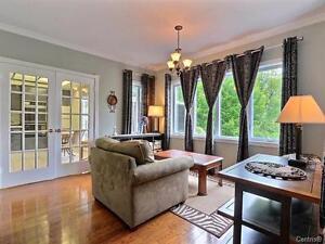 L'Île-Bizard,superbe propriété style Tudor, terrain de 148 640pc West Island Greater Montréal image 6