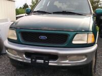 97-03 Ford F-150 Chrome bumpers