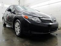 2012 Honda Civic LX NOIR AUTOMATIQUE A/C CRUIE 43,000KM
