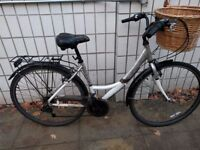 Womens' Apollo bike with basket and padlock - £100