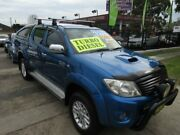 2009 Toyota Hilux KUN26R 09 Upgrade SR5 (4x4) Blue 4 Speed Automatic Dual Cab Pick-up New Lambton Newcastle Area Preview