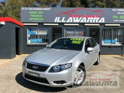 2008 Ford Falcon FG XT Silver 5 Speed Auto Seq Sportshift Sedan Barrack Heights Shellharbour Area Preview