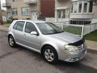 2008 GOLF CITY. manuel. 112 000km. IMPECABLE. FULL EQUIPER. 4200
