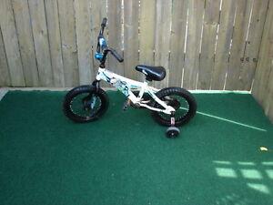boy bike 14 inch with training wheels