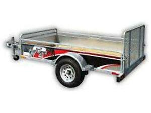 REMEQ UTILITY TRAILERS STEEL GALVANIZED