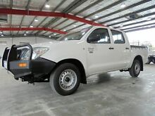 2010 Toyota Hilux TGN16R MY10 Workmate White 4 Speed Automatic Utility Welshpool Canning Area Preview