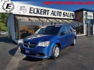 2011 Dodge Grand Caravan SE STOW-N-GO