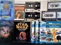 ROALD DAHL, TOM BAKER, STAR WARS, PHILIP PULLMAN, ISAAC ASIMOV & GHOSTS AUDIO BOOKS CASSETTE TAPES