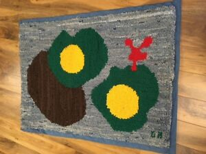 Rug hooking for your wall or floor