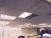 Free - 9.5 x 7.5meter Suspended Ceiling