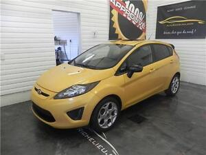 2013 FORD FIESTA TITANIUM TITANE,TOIT,CUIR,AIR,BLUETOOTH