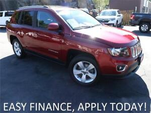 2016 Jeep Compass High Altitude 4X4! MOONROOF! HEATED LEATHER!