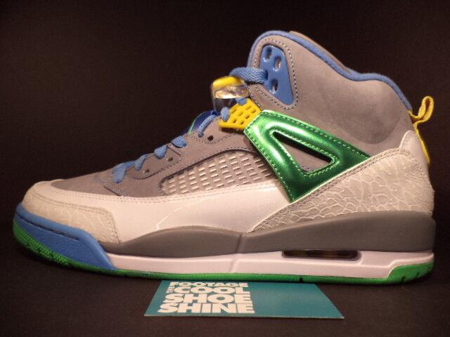 best website 72872 fb540 ... Nike Air Jordan SPIZIKE EASTER STEALTH CEMENT GREY GREEN BLUE 315371-056  DS 10.5 ...