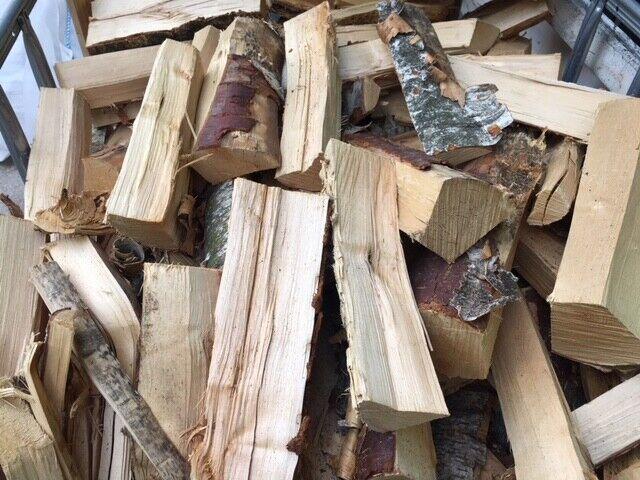 Birke Feuerholz Brennholz Kaminholz Holz trocken 25 oder 33 cm lang