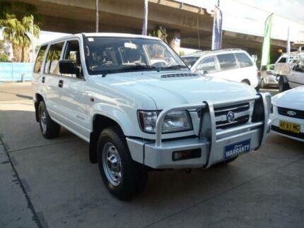 2002 Holden Jackaroo U8 LWB (4x4) White 5 Speed Manual 4x4 Wagon Holroyd Parramatta Area Preview