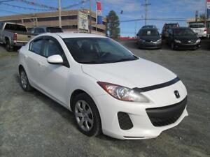 2013 Mazda Mazda3 GX ONLY $46 WKLY, NEW SNOW TIRES, LOW KMS!!