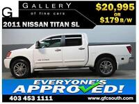 2011 NISSAN TITAN SL CREW *EVERYONE APPROVED* $0 DOWN $179/BW