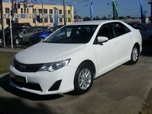 2014 Toyota Camry ASV50R Altise White 6 Speed Automatic Sedan Canada Bay Canada Bay Area Preview