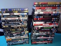 Hi guys,I sell nice 45 dvd comics,horror,commedy,fantasy,movie about football,about singer.