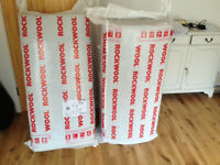 Rockwool insulation. As new. Unopened!