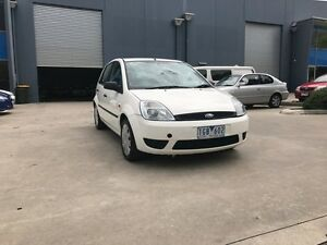 2004 Ford Fiesta WP LX White 5 Speed Manual Hatchback Newport Hobsons Bay Area Preview
