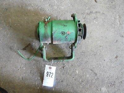 John Deere 3020 12 Volt Generator And Mount Tag 972