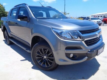 2017 Holden Colorado RG MY17 Z71 Pickup Crew Cab Satin Steel Grey 6 Speed Sports Automatic Utility