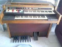 HAMMOND ORGAN WITH BENCH $325.00